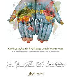 Altrinsic 2009 Holiday Card