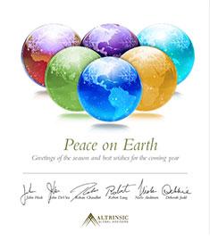 Altrinsic 2010 Holiday Card